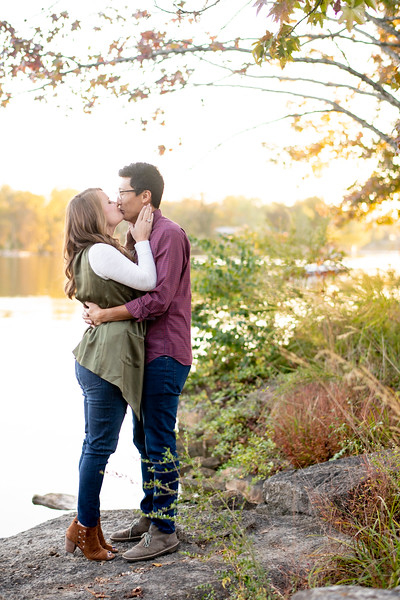 Kiss by the Lake