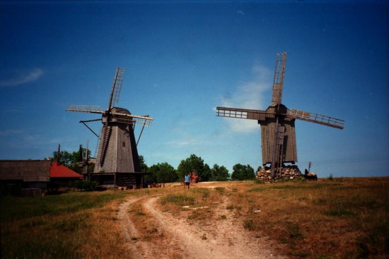 Baltic Power - Windmills in Kuuresaare, Island of Saaremaa, Estonia