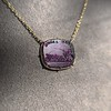 'Push Along' Purple Glass Pendant, by Seal & Scribe 17