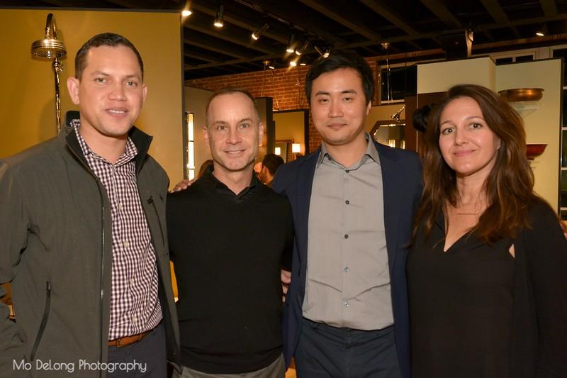 Edward Pedebone, Kevin Peters, James Yu and Jess Redondo