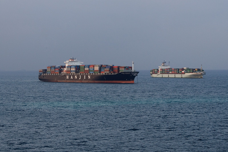 Containers waiting to enter the Suez.jpg