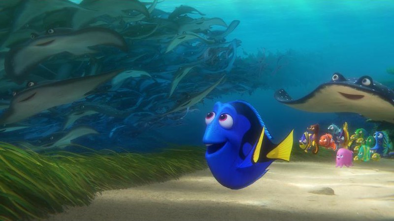 FINDING DORY theatrical release brings new tech advances for blind and low-vision movie-goers