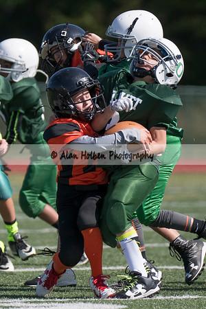 5th Grade Football - Charlotte at Olivet
