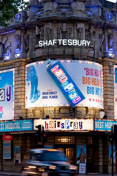 Shaftesbury Theatre, London, United Kingdom