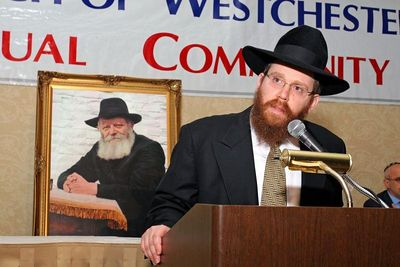 dinner of Chabad of Westchester County