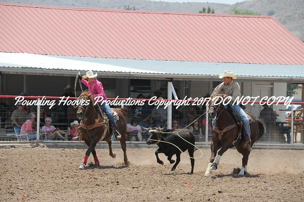 Sierra County 6-23-13 Jr Team Roping