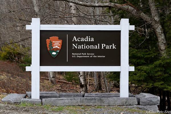 MAY 3 - 6  Acadia National Park