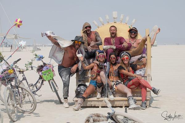 Burning Man ~ People on the Playa