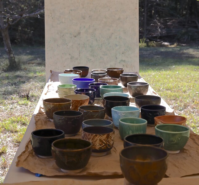 Halfway through the event and already half the bowls were sold!
