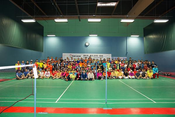 6th Annual Eye Level Badminton Tournament 3.29.2014