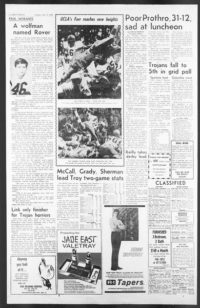 Daily Trojan, Vol. 58, No. 7, September 27, 1966