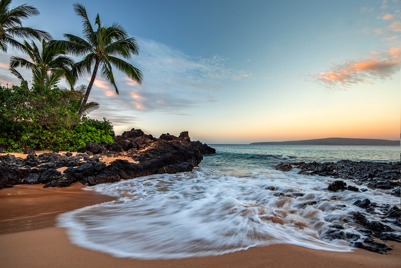 Beautiful Makena Cove beach, Maui, Hawaii