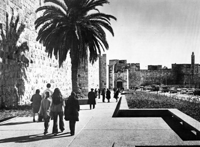 Planning Jerusalem, The Old City and Its Environs 1968-1971