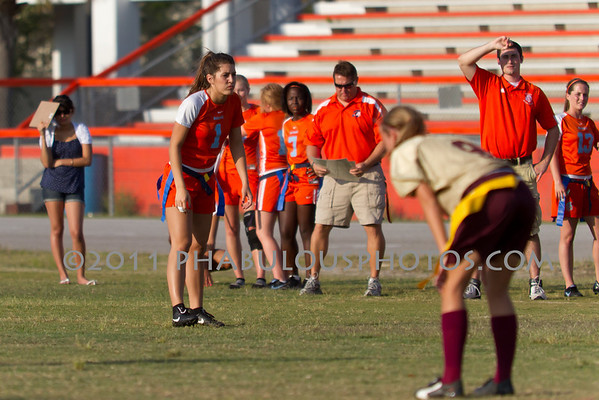 Boone Varsity Flag Football - 2011 #1
