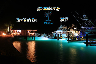 NYE 2017 Big Grand Cay