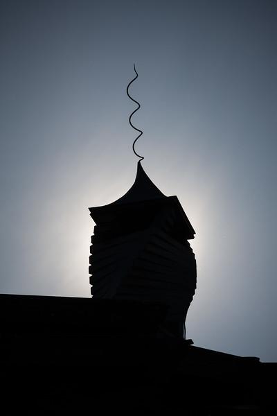 The Spiral House of Tom Gottsleben in Saugerties, NY