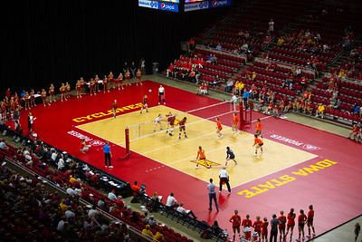Virginia at Iowa State NCAA Volleyball 8/25/2018
