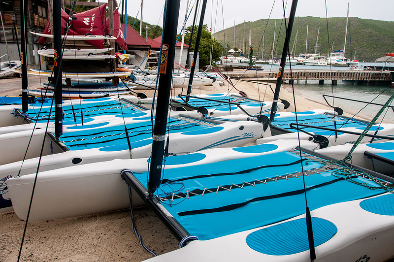 Yachts on the shore - British Virgin Islands