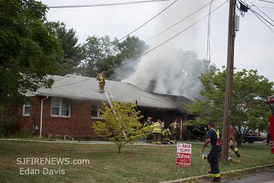 07-08-2012, 2nd Alarm Dwelling, Landisville, Atlantic County, 104 Irene Ave.
