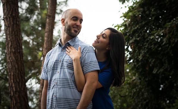 Portraits: Shirin and Jon