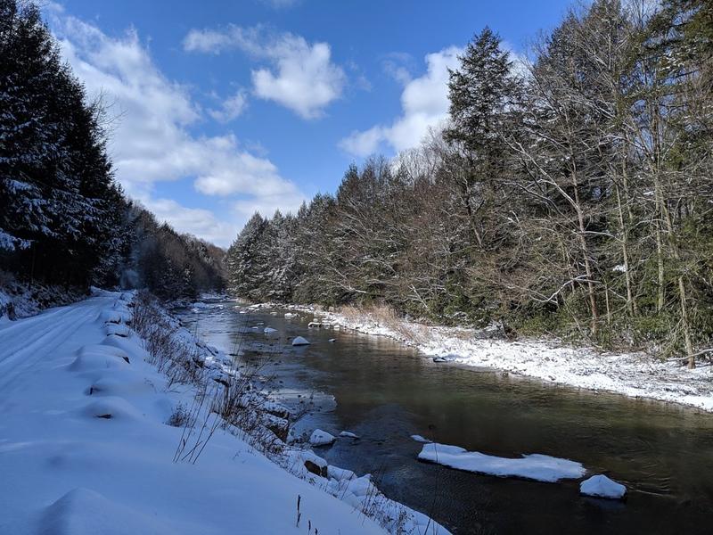 Winter Scene on the Rexis Branch of the GTT
