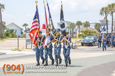 Jacksonvilles Beaches Parade - Opening Of The Beaches - 4.27.14