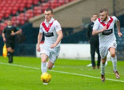 Queens Park v Airdrieonians 26 7 16