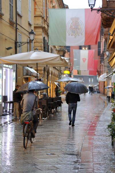 Via Farini - Reggio Emilia, Italy - October 25, 2011