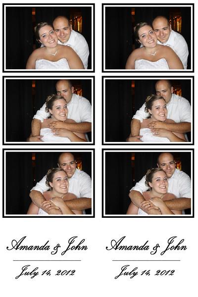 Amanda & John July 14, 2012