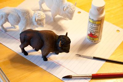 Buffalo Sculpture