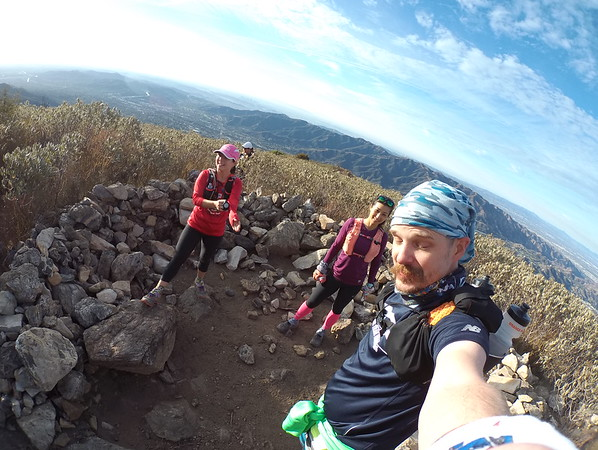Meghan First time to Mt. Lukens 12-24-2017