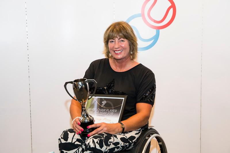Tennis NZ Awards 2019: White wall