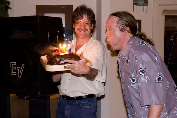 Bongo John turns 40 (or, in his words, 2/5ths of a century)