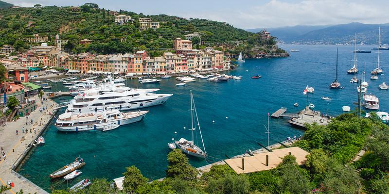 Portofino Harbor , Liguria