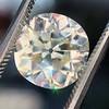 4.11ct Antique Cushion Cut Diamond, GIA N VS1 3