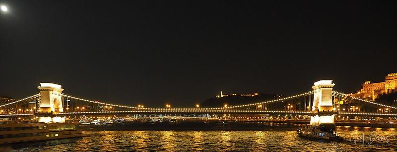 Széchenyi Chain Bridge, Budapest, Hungary - 1849