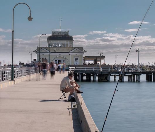 St. Kilda Pier ~ April