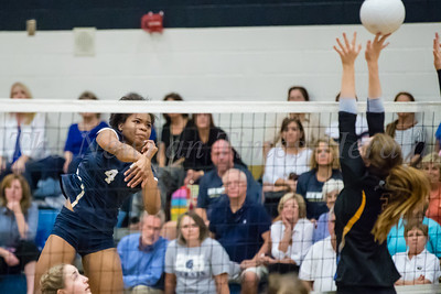 Newnan Volleyball  vs. Etowah  Oct. 18, 2016