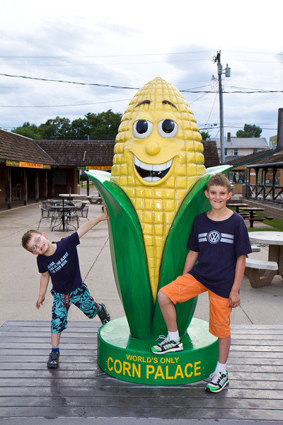 They Boys (and Corn)