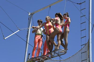 Sailor Circus Trapeze Demonstration
