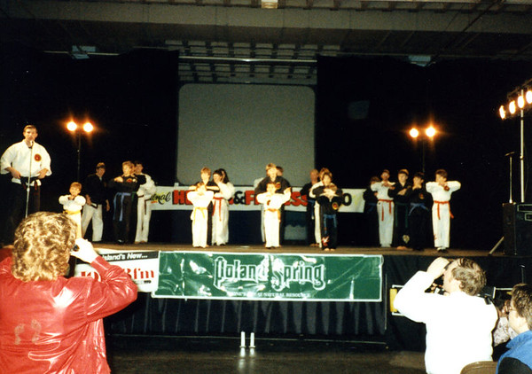 1987 03 - Martial Arts Demo at Health Show