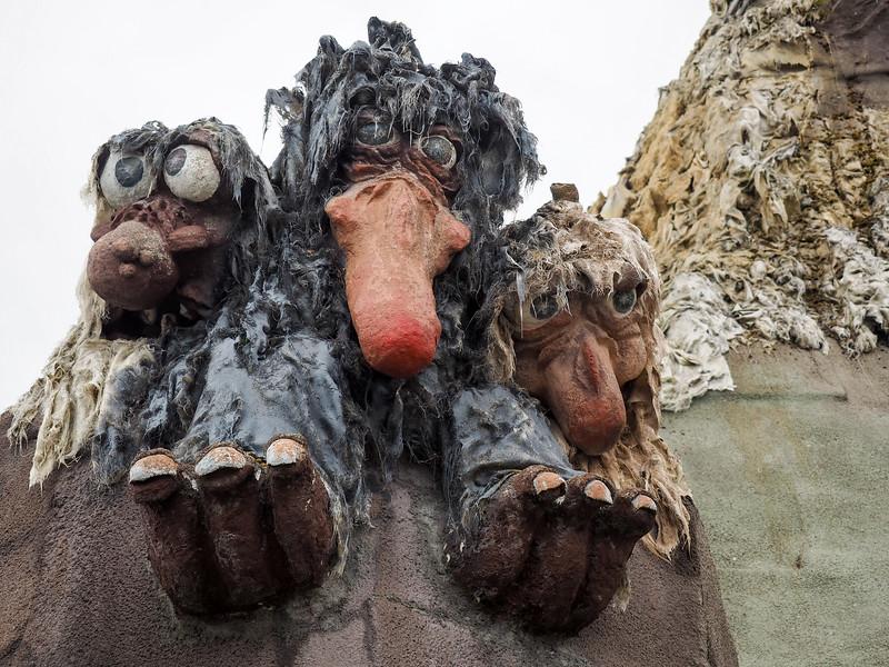 Trolls on Senja in Norway