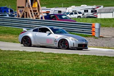2021 SCCA Pitt Race Aug TT Silver 20 NISSAN