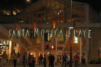 Santa Monica 3rd Street at Night
