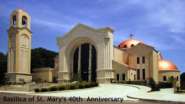 Basilica of St. Mary 40th Anniversary