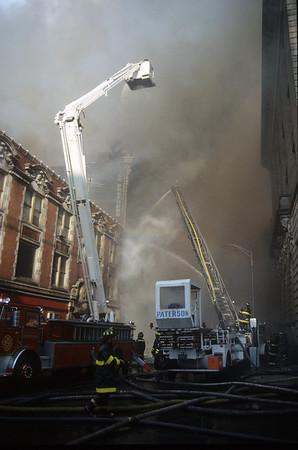 Paterson NJ, General Alarm LODD, Myers Brothers Dept Store complex, Main St btwn Van Houten St & Ellison St. 01-17-91
