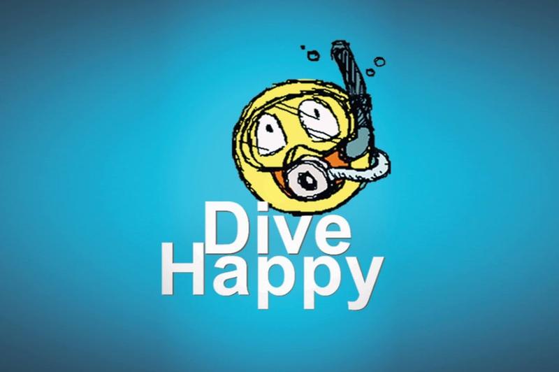 DiveHappy logo