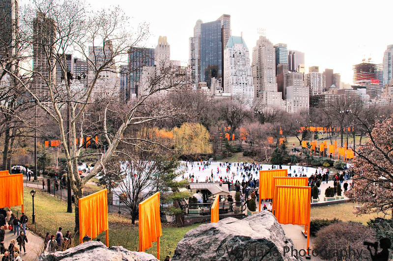 Gates of central park, New York, New York