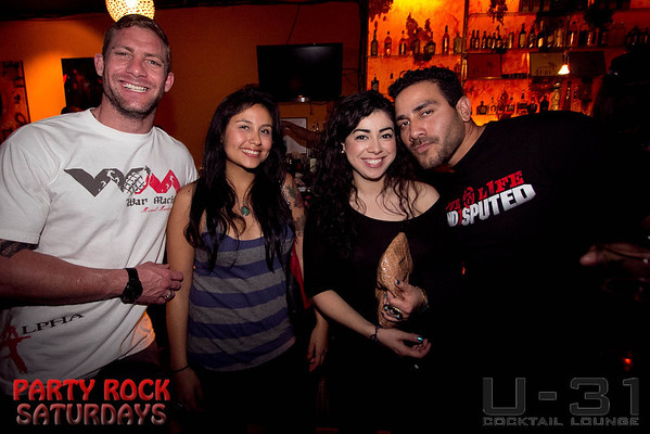 Party Rock Saturday @ U-31 2.25.12