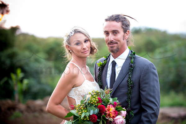 Jon & Kether's Na'alae Road Wedding